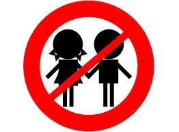 divieto bambini